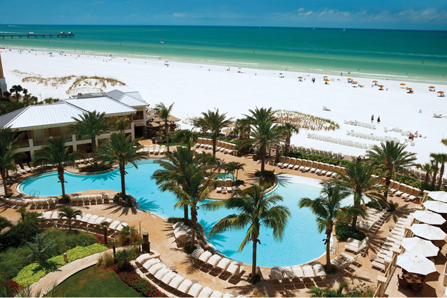 sandpaeral resort clearwater beach florida