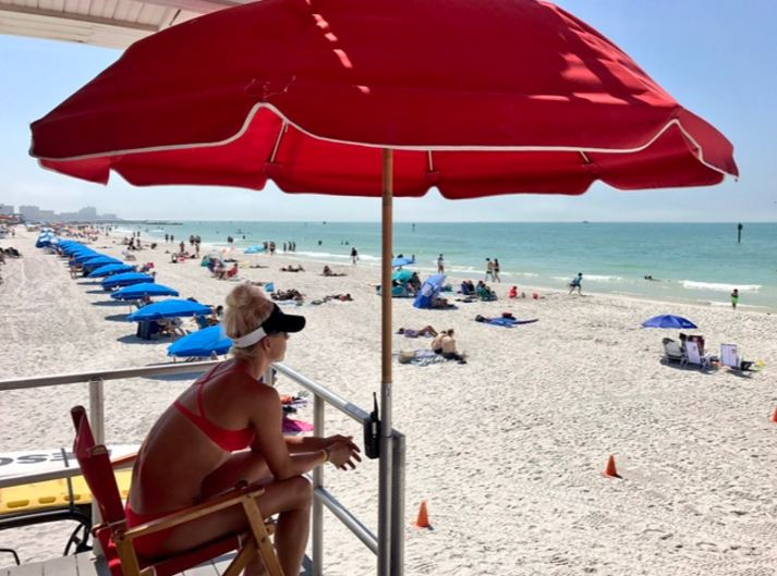 lifeguard clearwater beach